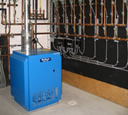 Buderus LP fired hydronic system photo.